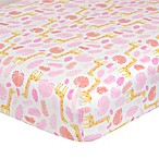 Just Born® Welcome to the Jungle Fitted Crib Sheet