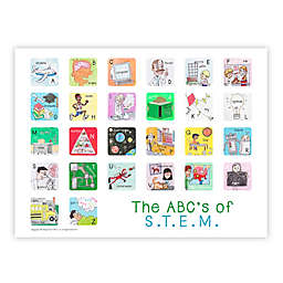 ABC's of STEM Poster Wall Art