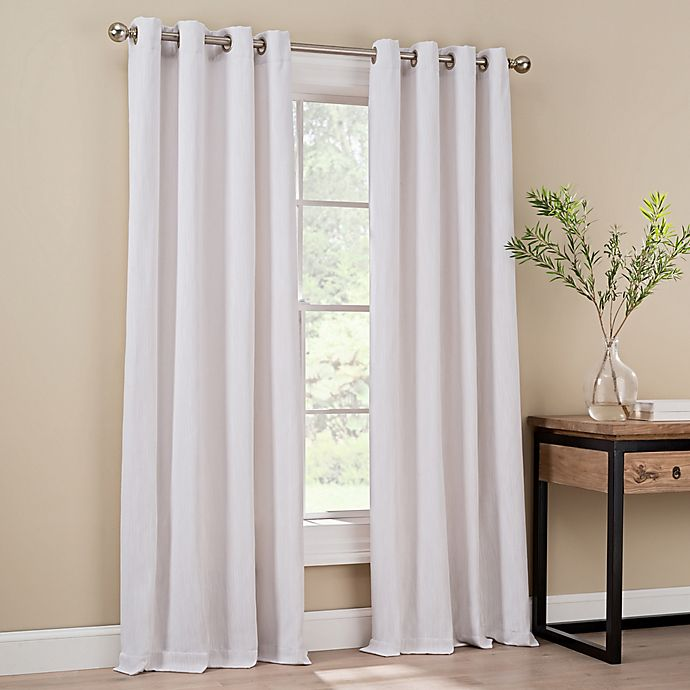 Alternate image 1 for Orion Grommet Top Window Curtain Panel