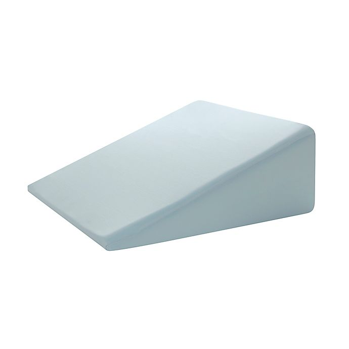 Broyhill Gel Foam Adjustable Wedge Pillow In Blue Bed