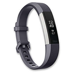 Fitbit® Alta HR™ Fitness Wristband in Blue/Grey