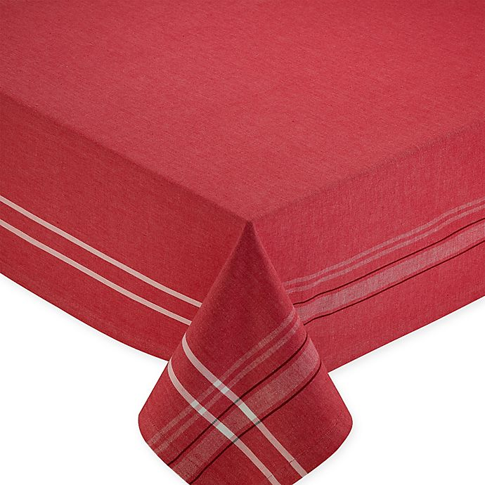 Alternate image 1 for Design Imports French Chambray Tablecloth