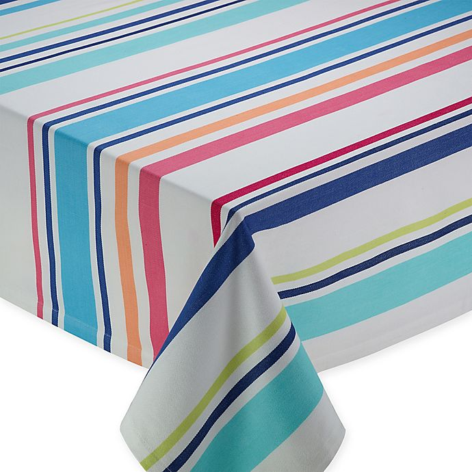 Alternate image 1 for Beachy Keen 52-Inch Square Tablecloth