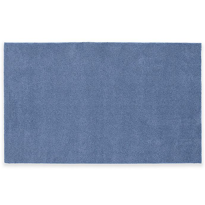 Alternate image 1 for Nylon 5-Foot x 8-Foot Bath Rug in Blue