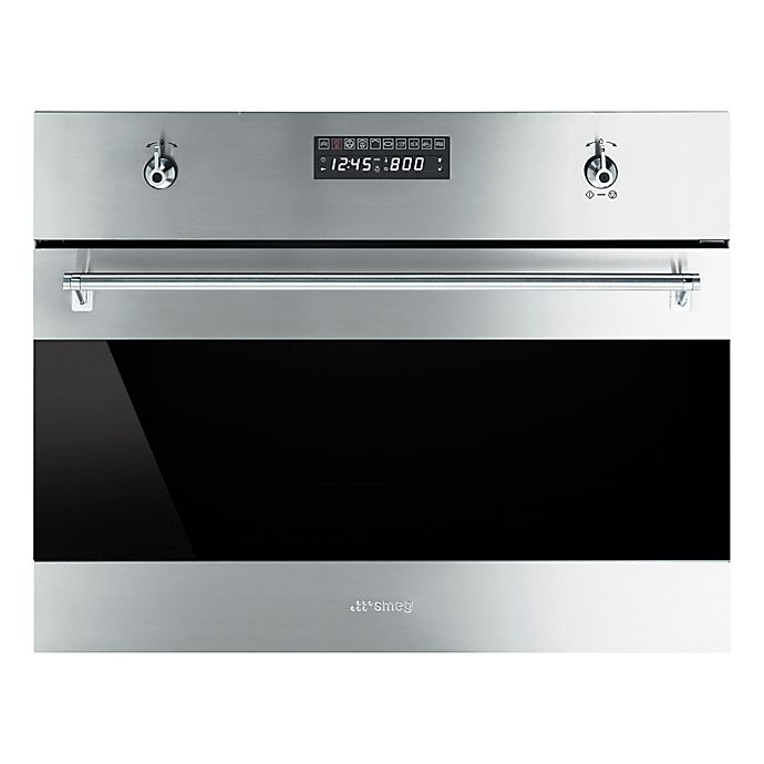 Alternate image 1 for SMEG Classic 24-Inch Built-in Combination Steam Oven in Stainless Steel