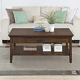 Craft + Main Rockwell Coffee Table in Walnut