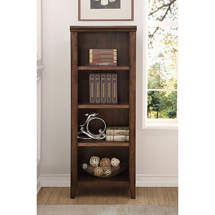Craft Main Rockwell Bookcase In Walnut Bed Bath Beyond