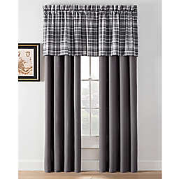 Camden Plaid Window Curtain Panels and Valance