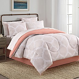 Lattice 8-Piece Comforter Set