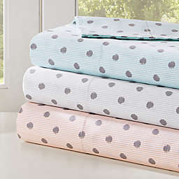 HipStyle 200-Thread-Count Polka Dot Printed Sheet Set