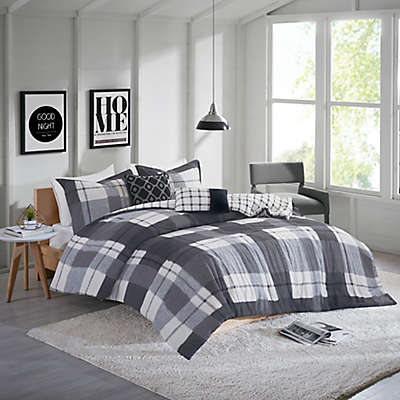 Clint Flannel Comforter Set