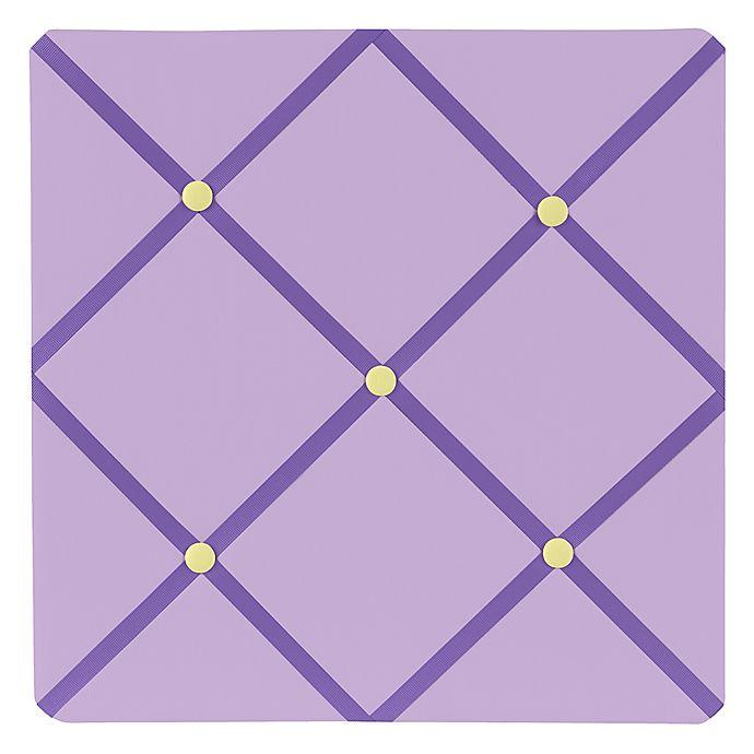 Alternate image 1 for Sweet Jojo Designs Danielle's Daisies Fabric Memo Board