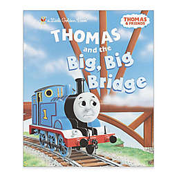 """Little Golden Book® Children's Book: """"Thomas and the Big, Big Bridge"""" by Reverend W. Awdry"""