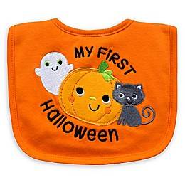 "Neat Solutions ""My 1st Halloween"" Bib in Orange"