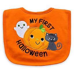 "Neat Solutions ""My 1st Halloween"" Bib in Orange"