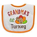 Neat Solutions  Grandma's Lil' Turkey  Bib in White