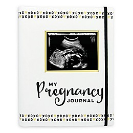 Pearhead Pregnancy Journal in Black/White