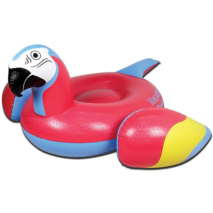 Alternate image 1 for Margaritaville® Parrot Head Pool Float in Red