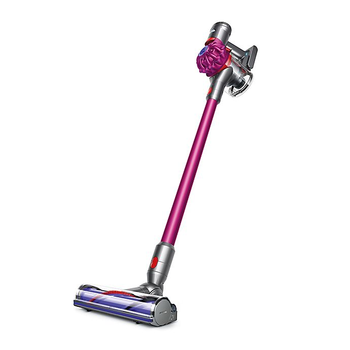 Alternate image 1 for Dyson V7 Motorhead Cord-free Stick Vacuum in Fuchsia/Steel