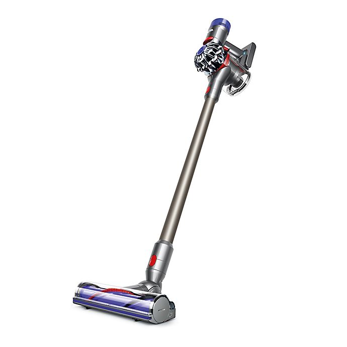 Alternate image 1 for Dyson V8 Animal Cord-free Stick Vacuum in Nickel/Titanium