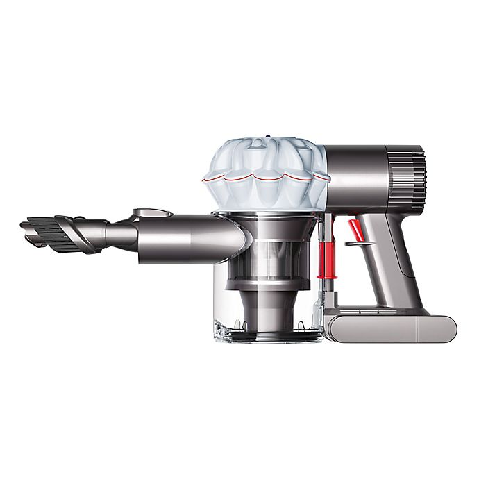 Alternate image 1 for Dyson V6 Baby + Child Handheld Trigger Vacuum in White/Iron