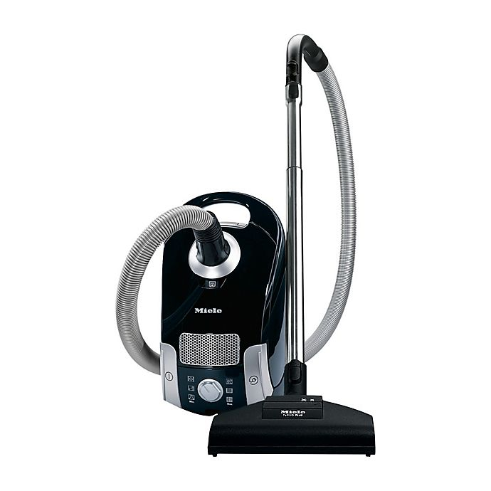 Alternate image 1 for Miele Compact C1 Turbo Team Canister Vacuum in Black