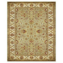 Feizy Abbey Alexandra Rug in Sage/Ivory