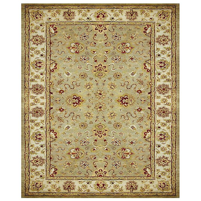 Alternate image 1 for Feizy Abbey Alexandra 9-Foot 3-Inch x 13-Foot Rug in Sage/Ivory