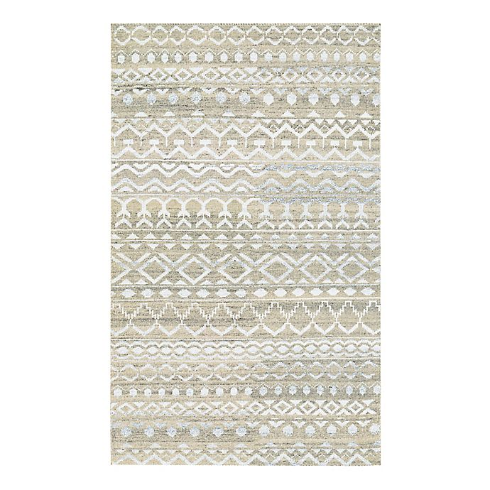 Alternate image 1 for Couristan® Casbah Purnia 8-Foot x 11-Foot Area Rug in Natural/Cream