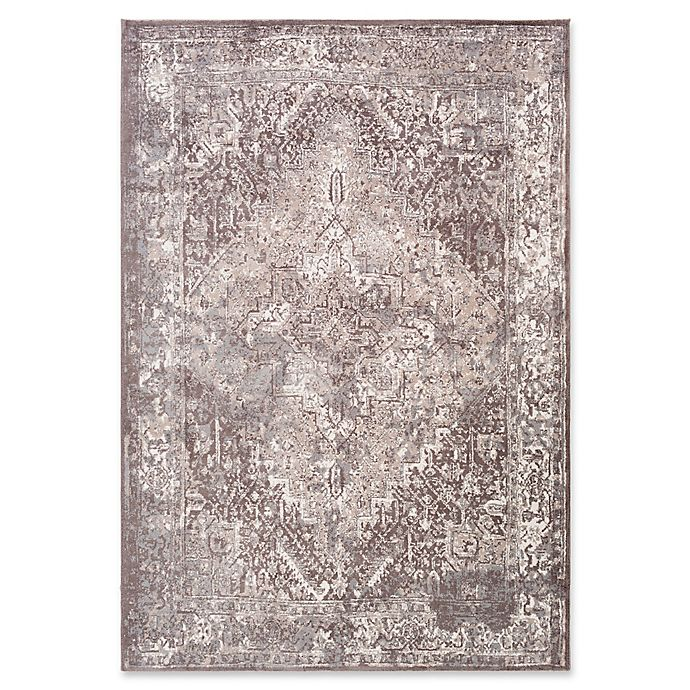 Alternate image 1 for Surya Apricity Medallion 2-Foot x 3-Foot Accent Rug in Grey