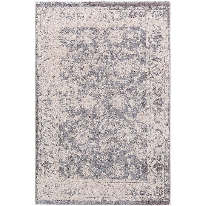 Alternate image 1 for Surya Apricity Floral 2-Foot x 3-Foot Accent Rug in Cream