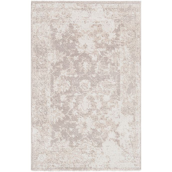 Alternate image 1 for Surya Apricity Floral 2-Foot x 3-Foot Accent Rug in White