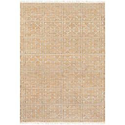 Surya Chilam 4' x 6' Handcrafted Jute Area Rug in Cream
