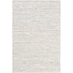 Surya Schultz 2-Foot x 3-Foot Accent Rug in Silver