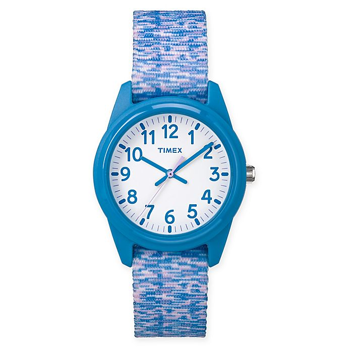 Alternate image 1 for Timex® Our Time Machines™ Children's 32mm Analog Watch in Resin w/Nylon Strap