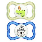 MAM Air Ages 6+ Months Pacifier in Blue (2-Pack)