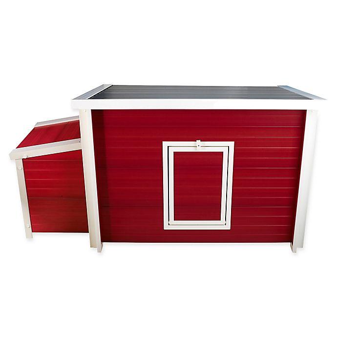 Alternate image 1 for Fontana™ Chicken Barn in Red/Maple