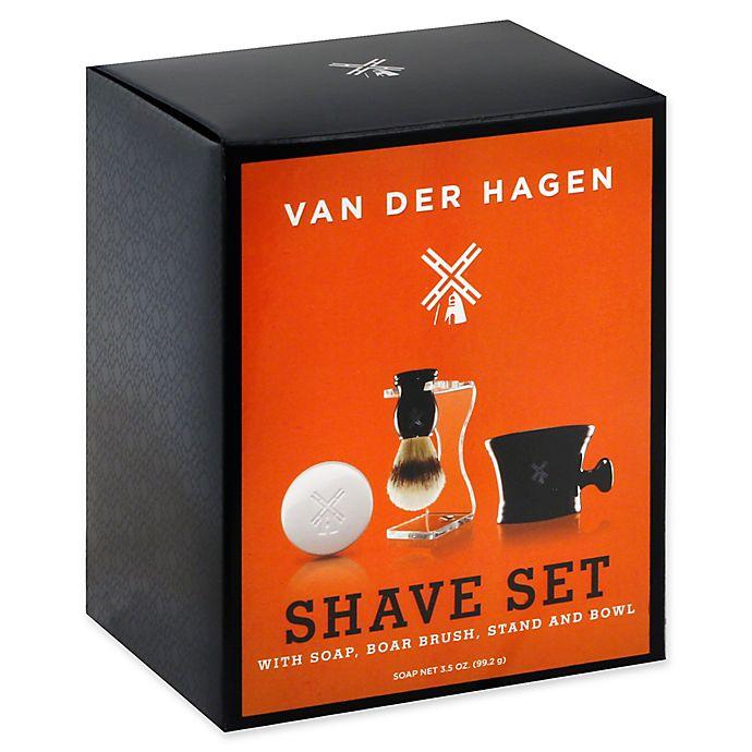 Alternate image 1 for Van Der Hagen Men's Luxury Wet Shave Set