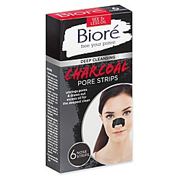 Biore® 6-Count Charcoal Nose Strips
