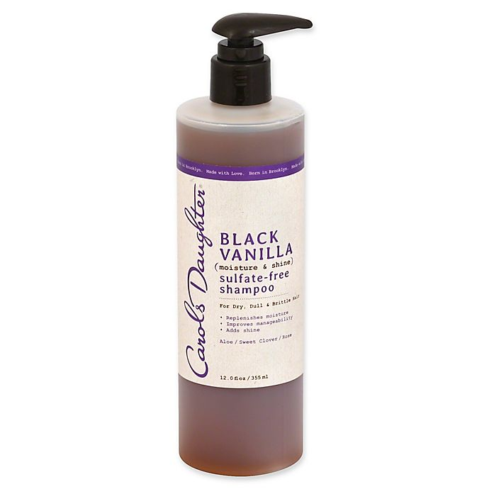 Alternate image 1 for Carol's Daughter®  12 oz. Black Vanilla Moisture and Shine Sulfate-Free Shampoo