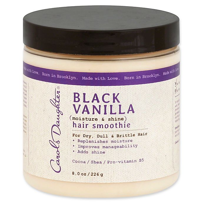 Alternate image 1 for Carol's Daughter® 8 oz. Black Vanilla Moisture and Shine Hair Smoothie