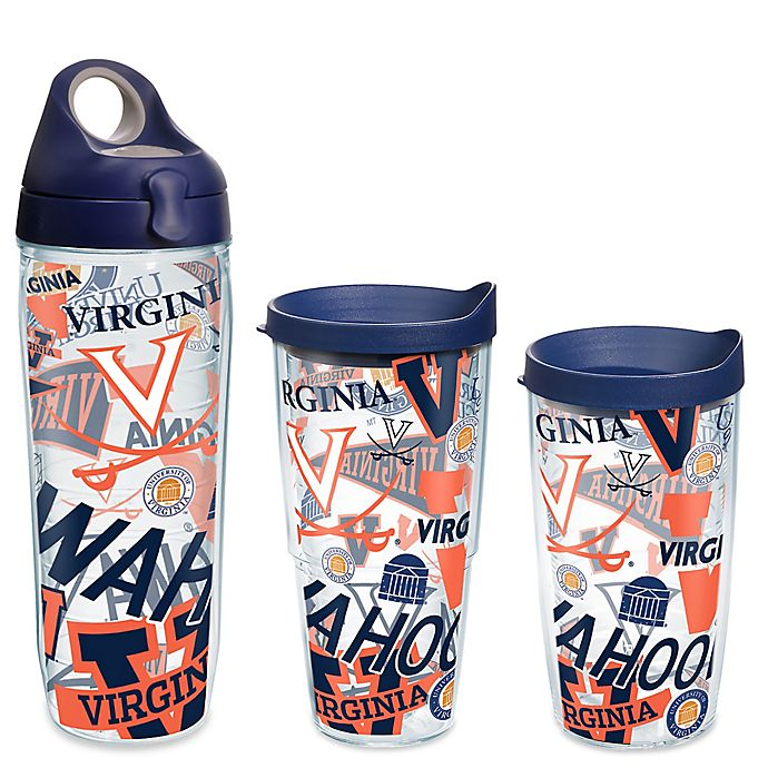 Alternate image 1 for Tervis® University of Virginia All Over Wrap Drinkware with Lid