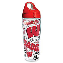 Tervis® University of Wisconsin All Over 24 oz. Wrap Water Bottle with Lid