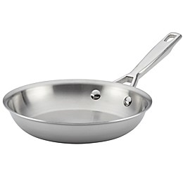 Anolon® Tri-Ply Clad Stainless Steel 8.5-Inch French Skillet