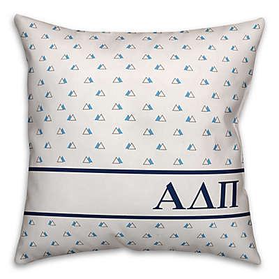 Designs Direct Greek Sorority Triangle Throw Pillow