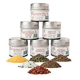 Gustus Vitae 6-Pack Gourmet European Landscape Spice Collection