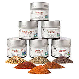 Gustus Vitae 6-Pack Ultimate Gourmet BBQ Spice Collection