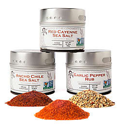 Gustus Vitae 3-Pack Craft BBQ Spice Collection