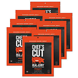 Chef's Cut 8-Pack Real Bacon Jerky® in Sriracha