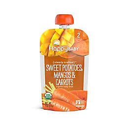 Happy Baby™ 4 oz. Stage 2 Organic Baby Food with Sweet Potatoes, Mangos, and Carrots